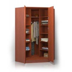 Шкаф распашной угловой ALISA-6