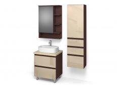 "Комплект мебели для ванных комнат ""ФРЕШ-4"" габарит 1020х466х1916"