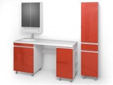 "Комплект мебели для ванных комнат ""ФРЕШ-6"" габарит 2064х586х1916"