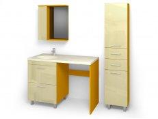 "Комплект мебели для ванных комнат ""ФРЕШ-7"" габарит 1660х586х1916"