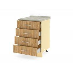 Стол 4 ящика (метабоксы) 600 ЛИРА
